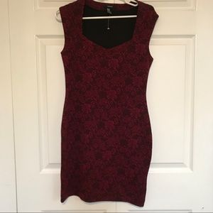 Forever 21 bodycon dress size Medium